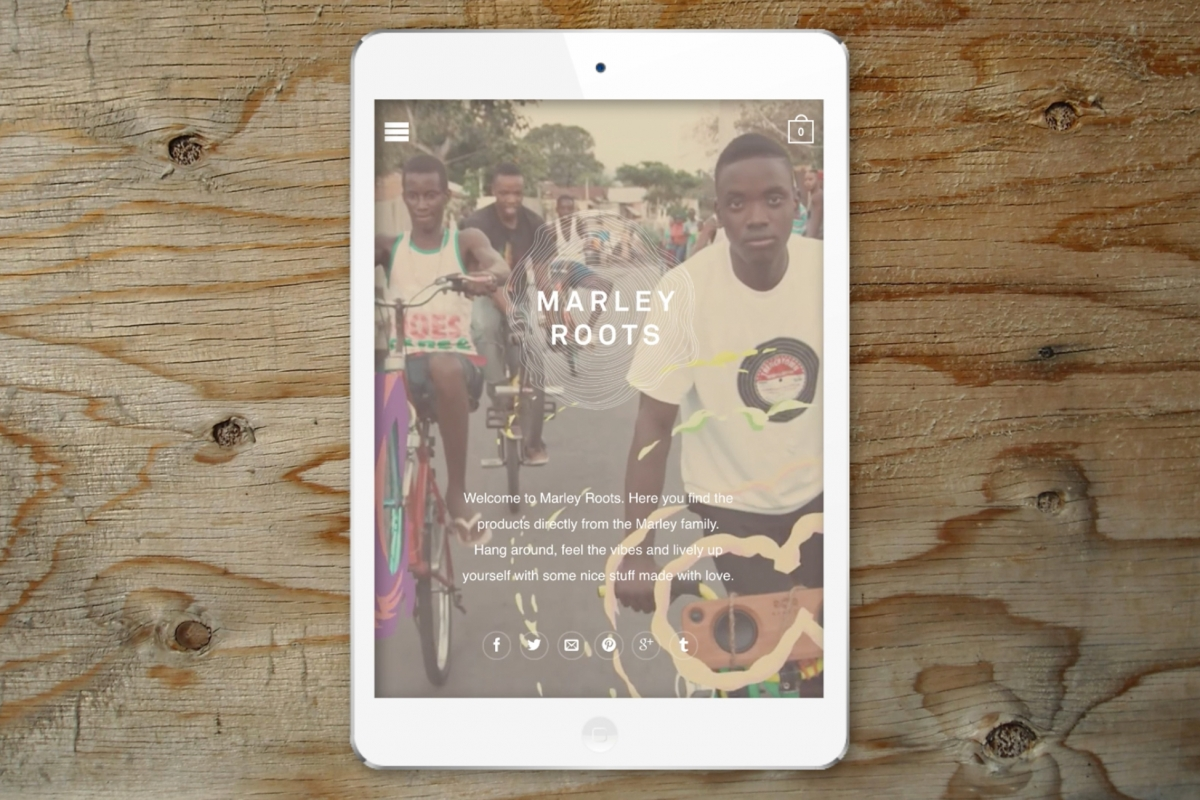 Marley Roots Website